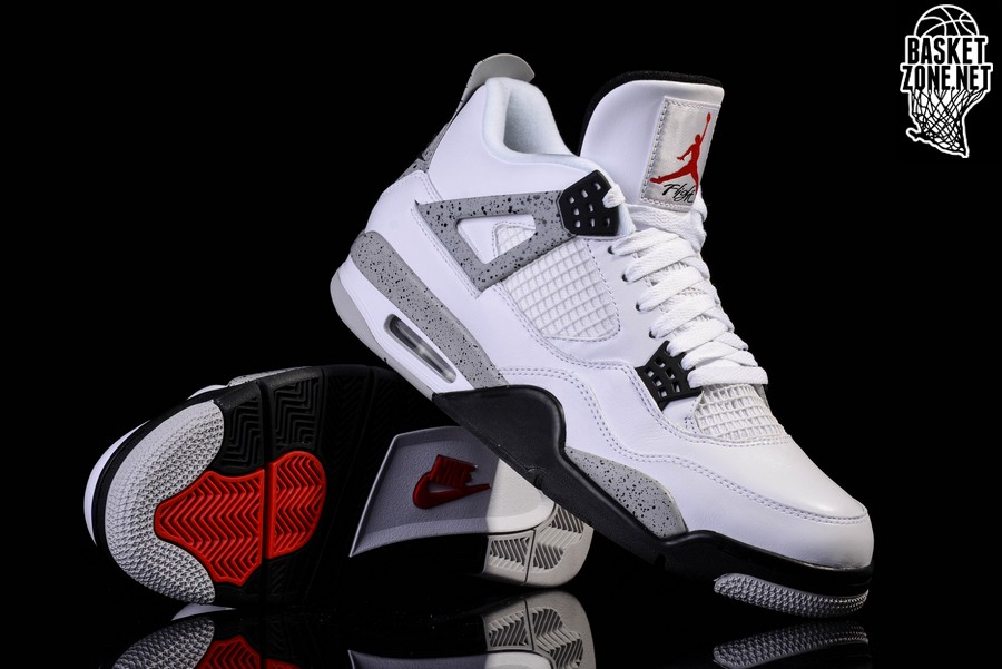 buy popular 2cd7c b6955 NIKE AIR JORDAN 4 RETRO OG  WHITE CEMENT