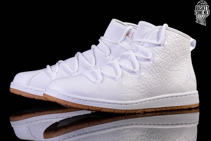 Nike Jordan GalaxyUK 6 EUR 40 Bianco Gomma MarroneNuovo 820255 102 Basket