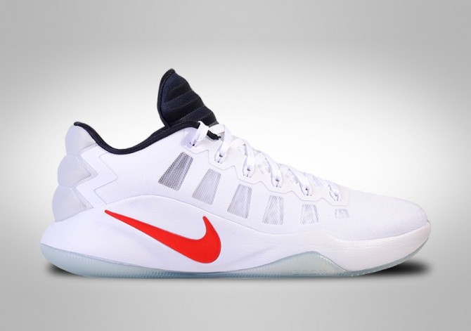 classic fit 024cb 5174f NIKE HYPERDUNK 2016 LOW USA BASKETBALL TEAM HOME