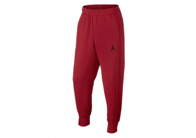 NIKE AIR JORDAN FLIGHT PANT GYM RED