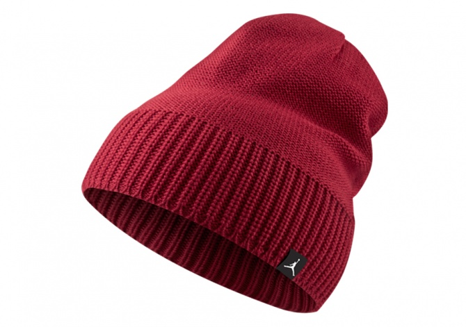 NIKE AIR JORDAN JUMPMAN BEANIE KNIT HAT GYM RED