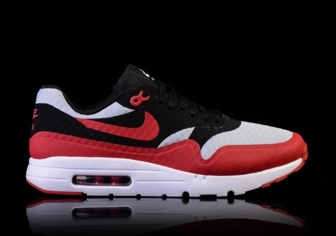 new styles 197ee da1c6 NIKE AIR MAX 1 ULTRA ESSENTIAL GYM RED-BLACK-WHITE