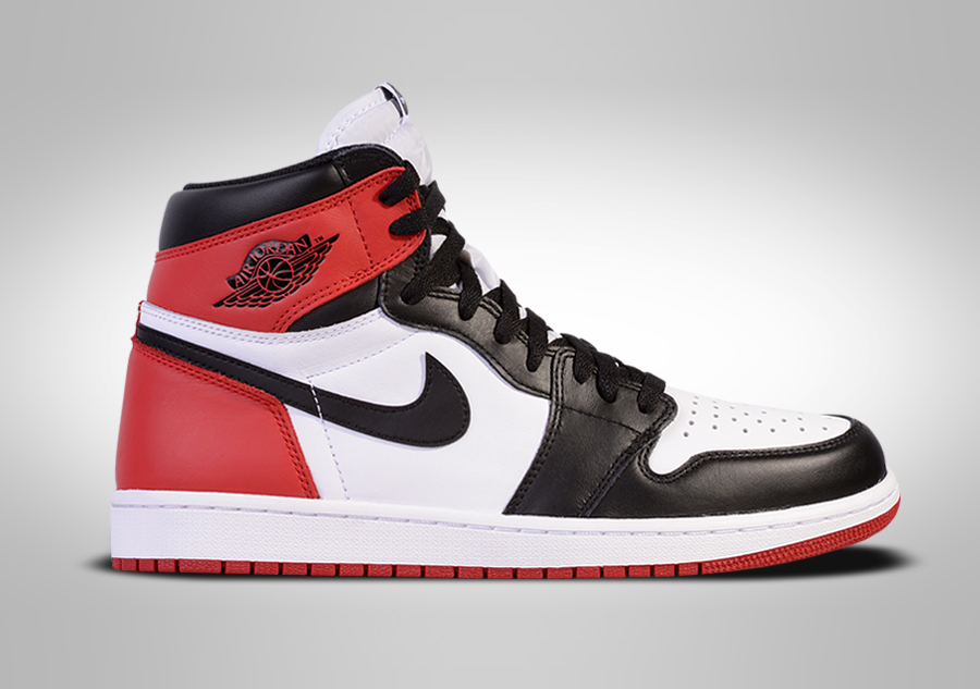 NIKE AIR JORDAN 1 RETRO HIGH OG BLACK TOE per €302 4124e7073d40