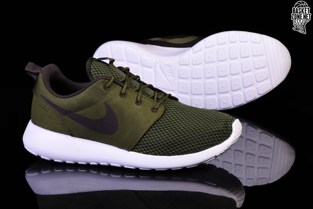 NIKE running shoes Roshe One SE legion green brown velvet
