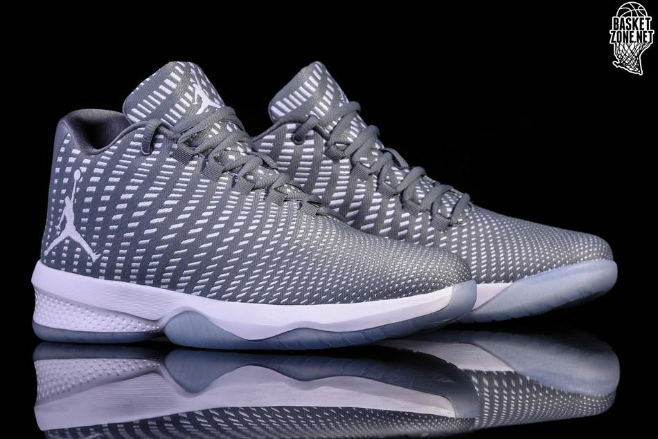 NUOVA linea uomo Nike Air Jordan Fly Basket Scarpe da ginnastica B. Grigio 881444 003 UK 11 EUR 46