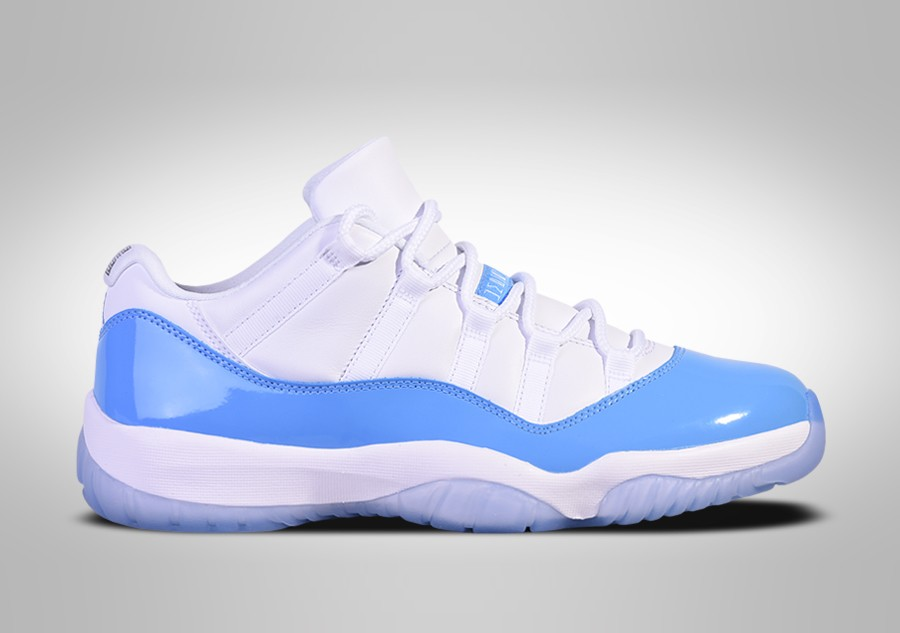 4bcf97d796 NIKE AIR JORDAN 11 RETRO LOW UNC NORTH CAROLINA BLUE price €167.50 |  Basketzone.net