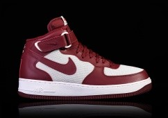 NIKE AIR FORCE 1 MID '07 TEAM RED