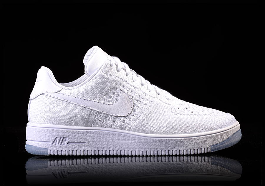 premium selection daed6 c931b NIKE AIR FORCE 1 ULTRA FLYKNIT LOW WHITE-ICE per €105,00   Basketzone.net
