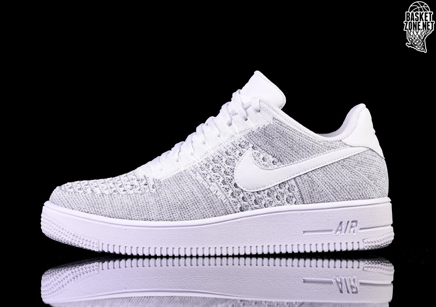timeless design 730ef 3ffae NIKE AIR FORCE 1 ULTRA FLYKNIT LOW COOL GREY. 817419-006