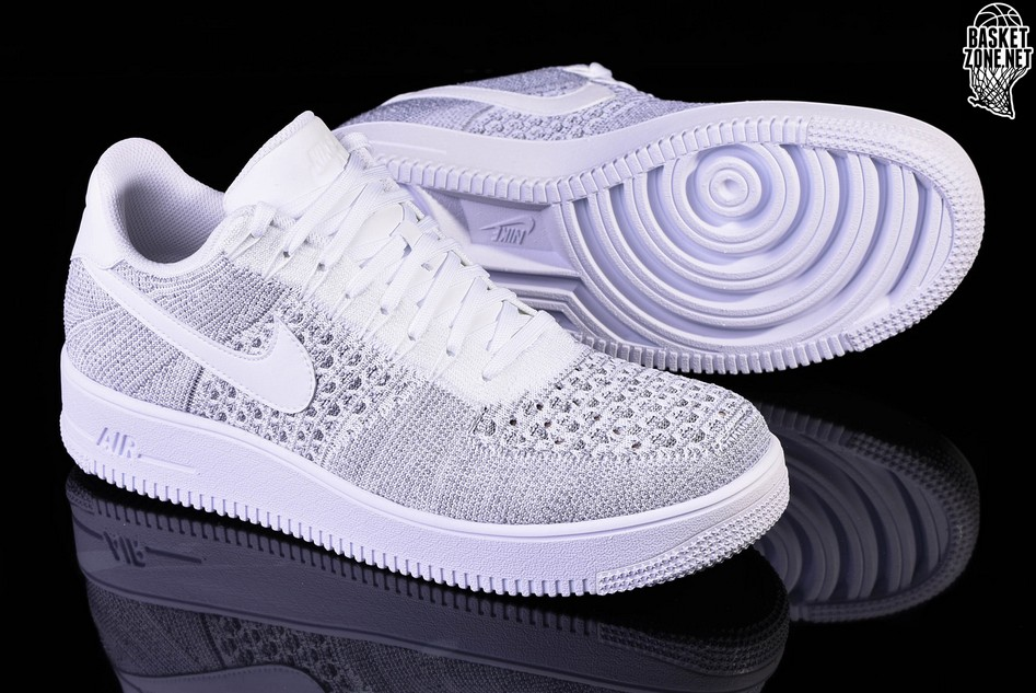 timeless design a142d a1407 NIKE AIR FORCE 1 ULTRA FLYKNIT LOW COOL GREY. 817419-006