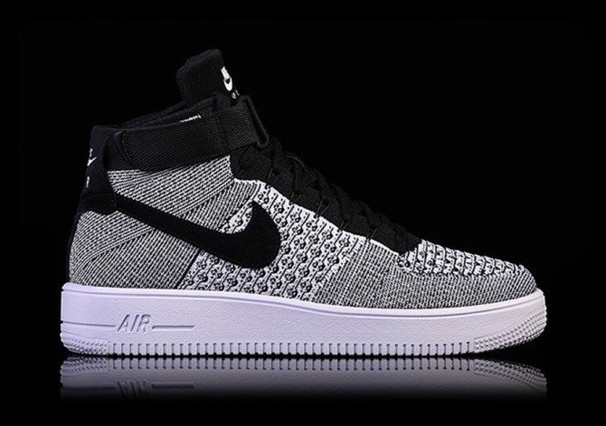 new product a901e 743ba NIKE AIR FORCE 1 ULTRA FLYKNIT MID OREO