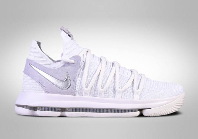 NIKE ZOOM KD 10 STILL KD WHITE CHROME per €127 d35a941bb9a