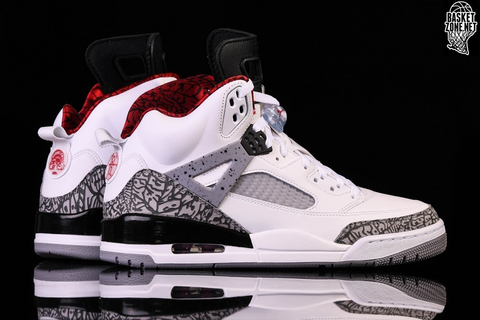 NIKE AIR JORDAN SPIZIKE WHITE CEMENT price ?157.50