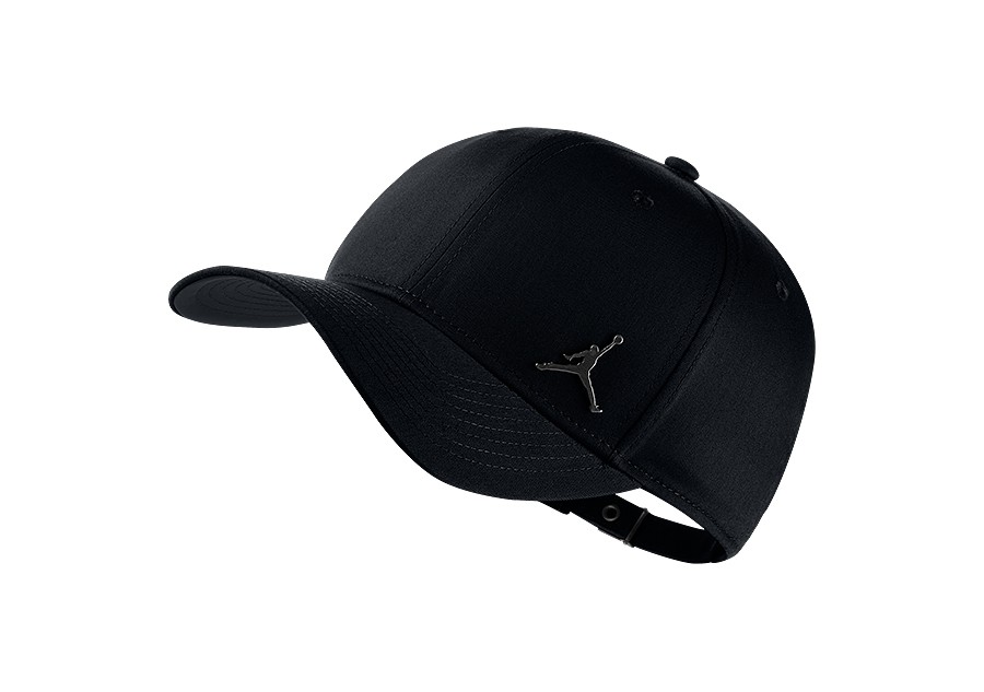 NIKE AIR JORDAN CLASSIC99 METAL JUMPMAN HAT BLACK