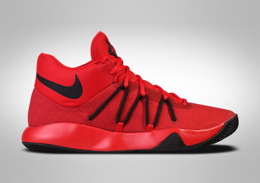 Nike da uomo KD TREY 5 V Scarpe Misura 7 ROSSO NERO 897638 600