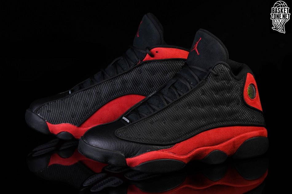 Athletic Shoes Men's Shoes Nike Air Jordan 13 Retro Bred Mens Basketball Shoes Trainers Uk 9.5