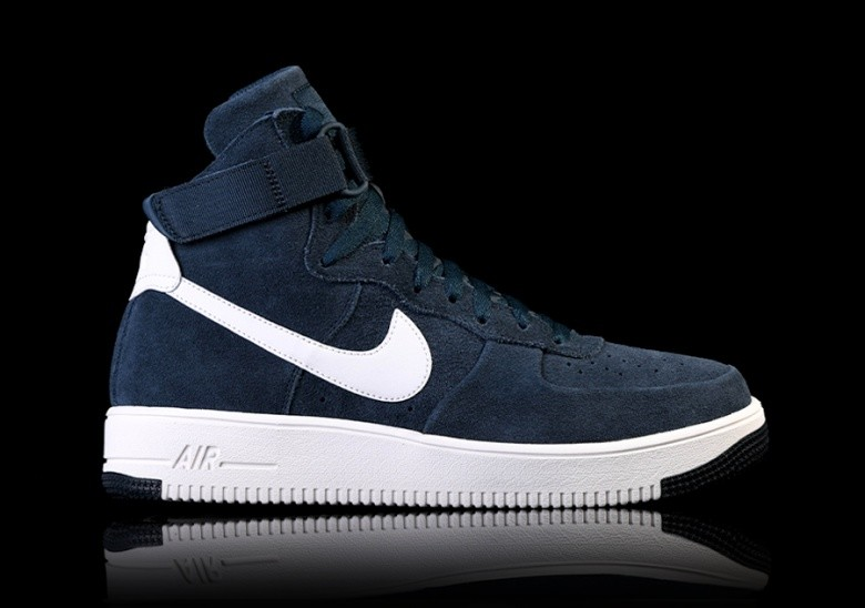 the latest f45fc 97354 NIKE AIR FORCE 1 ULTRAFORCE HIGH ARMORY NAVY