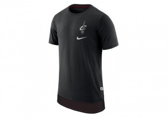 NIKE NBA CLEVELAND CAVALIERS TEE ENGY MESH DH BLACK
