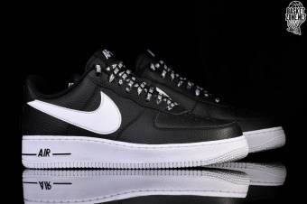 eb93d233080f NIKE AIR FORCE 1  07 LV8 NBA PACK BLACK pour €102