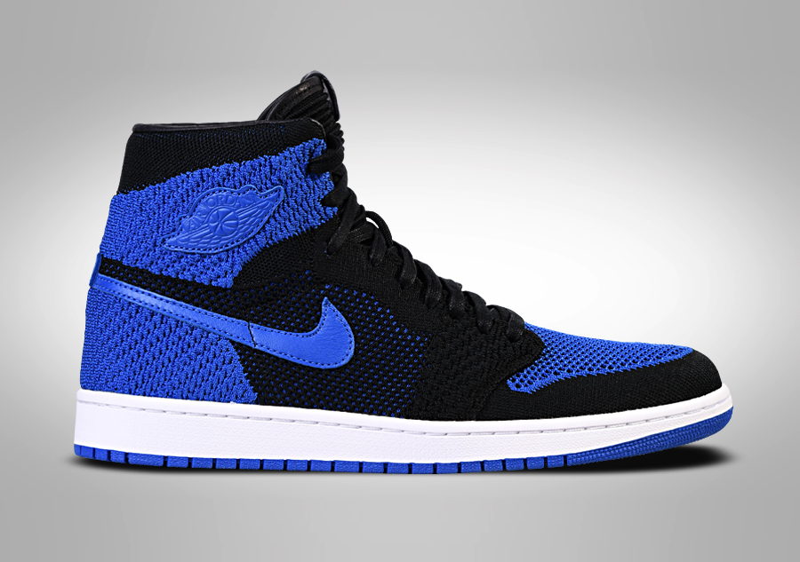 0a59e86a26 NIKE AIR JORDAN 1 RETRO HIGH FLYKNIT BG ROYAL BLUE per €102,50 ...