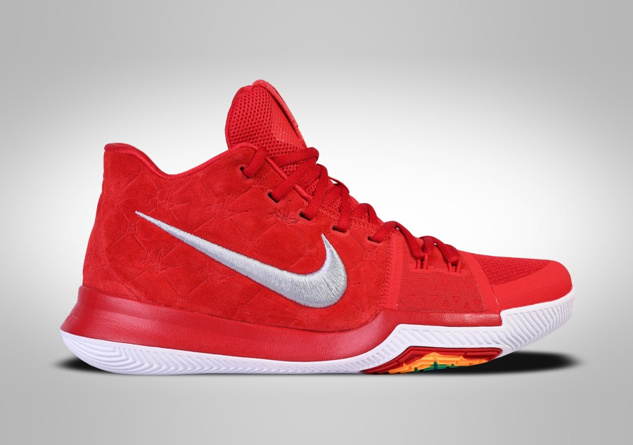 NIKE KYRIE 3 RED SUEDE price €102.50