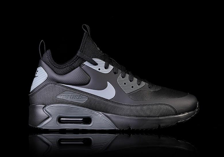 Nike Air Max 90 Mid Winter Black |
