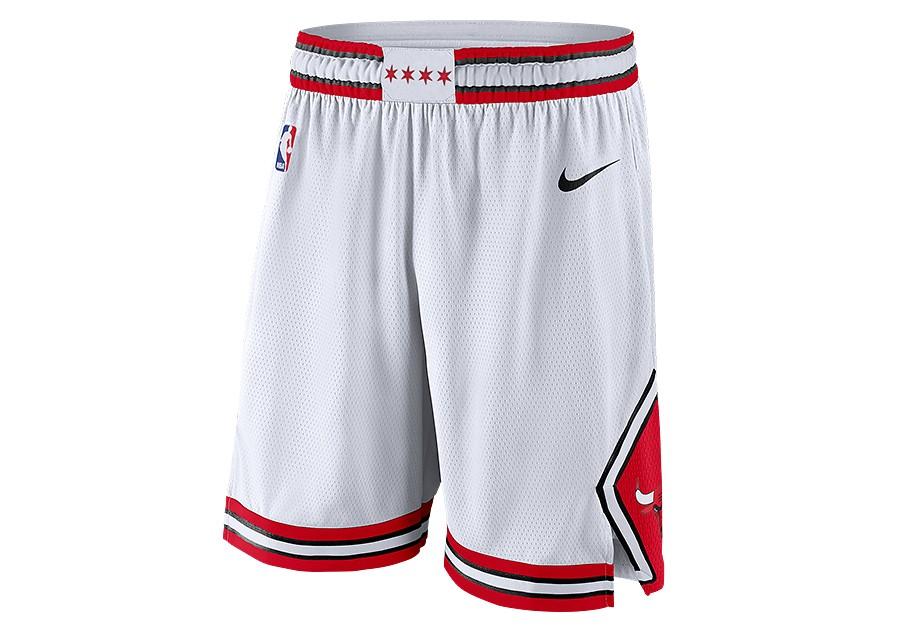 6e6b51286f0a NIKE NBA CHICAGO BULLS SWINGMAN SHORTS HOME WHITE price €49.00 ...