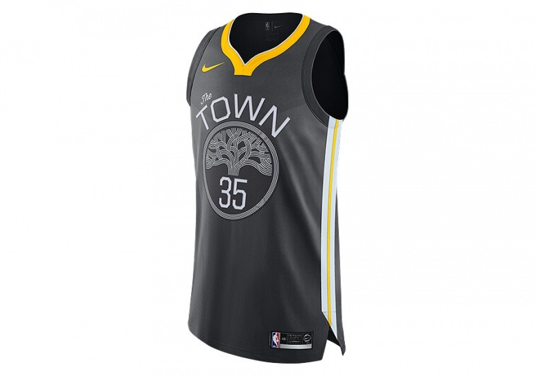 dd6c8e2cb50 NIKE NBA GOLDEN STATE WARRIORS KEVIN DURANT AUTHENTIC JERSEY ANTHRACITE  price €115.00