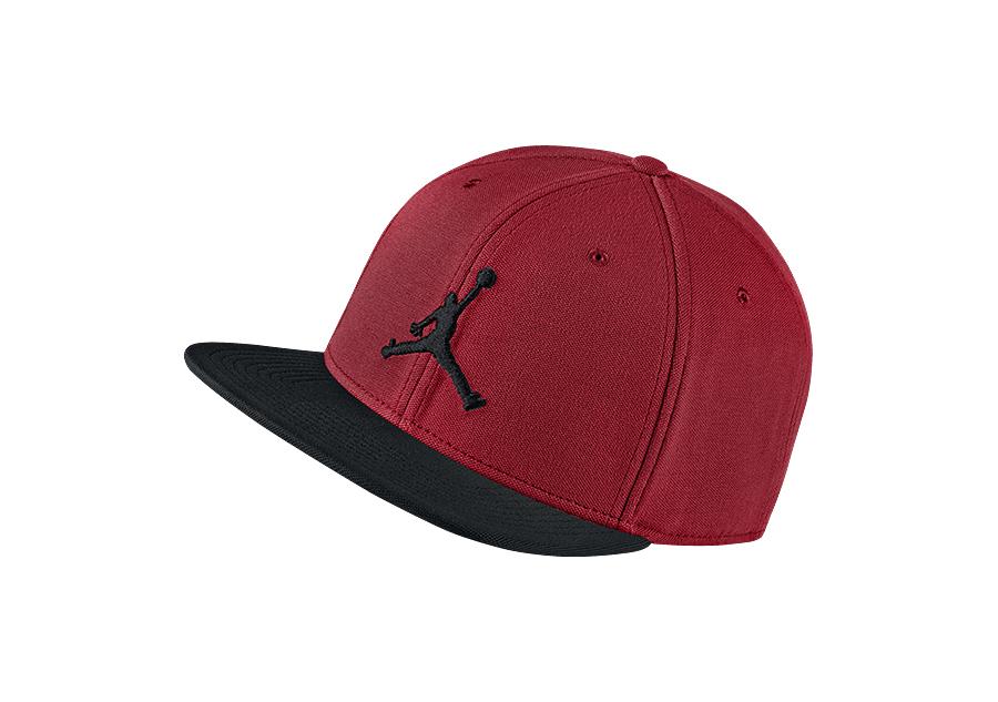 e1ac38909ab103 NIKE AIR JORDAN JUMPMAN SNAPBACK HAT GYM RED BLACK per €25