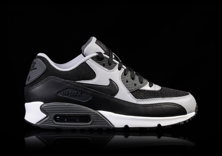 NIKE AIR MAX 90 ESSENTIAL BLACK-WOLF GREY-ANTHRACITE