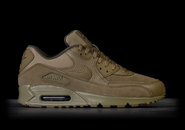 best sneakers b0329 a437c NIKE AIR MAX 90 PREMIUM NEUTRAL OLIVE