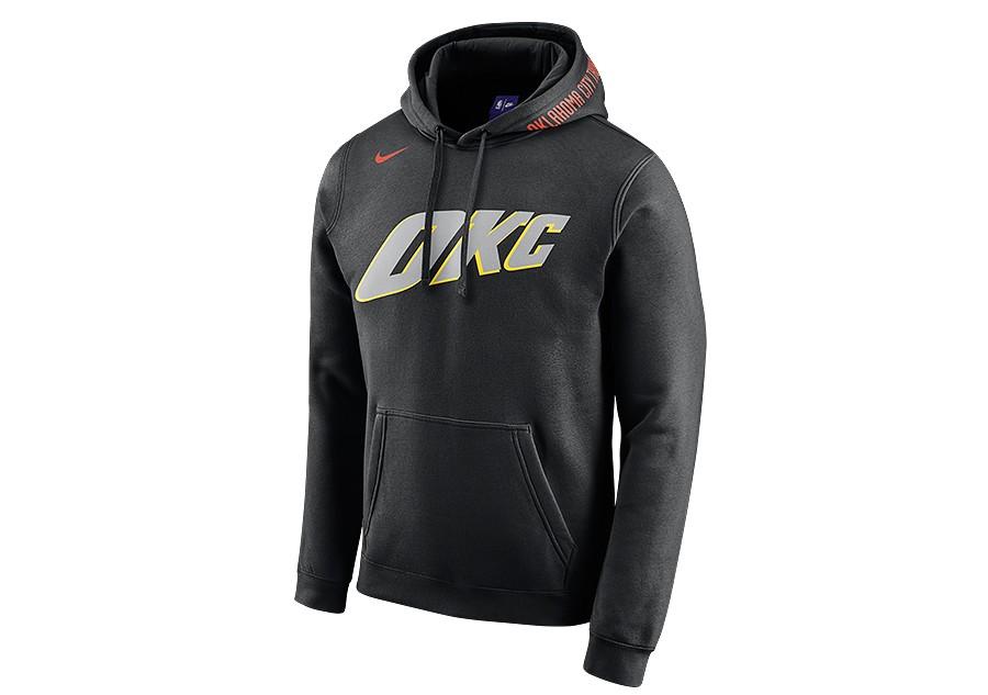 new products ae29c 1e0d4 NIKE NBA OKLAHOMA CITY THUNDER HOODIE BLACK cena 1642,50kč ...