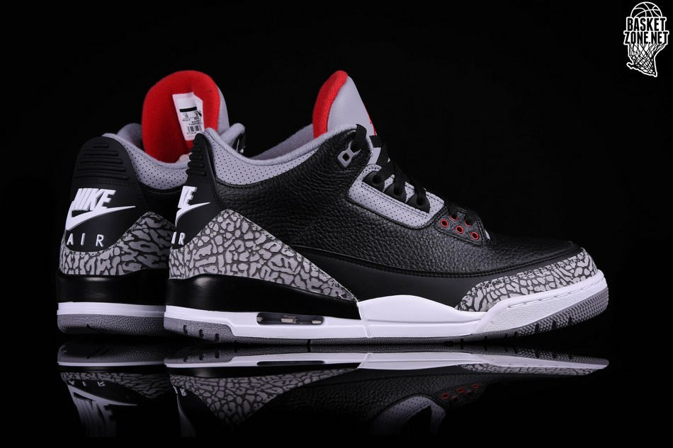 separation shoes eb7e0 8d347 ... ireland nike air jordan 3 retro black cement 3b8d9 01c92