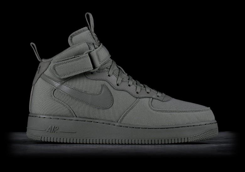 nike air force 1 mid 07 dark grey