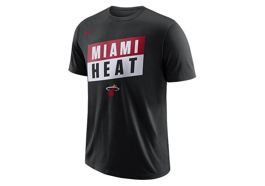 f595d2681667 NIKE NBA MIAMI HEAT DRY TEE BLACK price €27.50