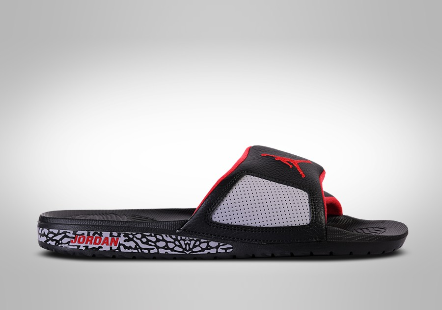 2279e8529c4da9 NIKE AIR JORDAN HYDRO SLIDE III RETRO BLACK CEMENT price €57.50 ...