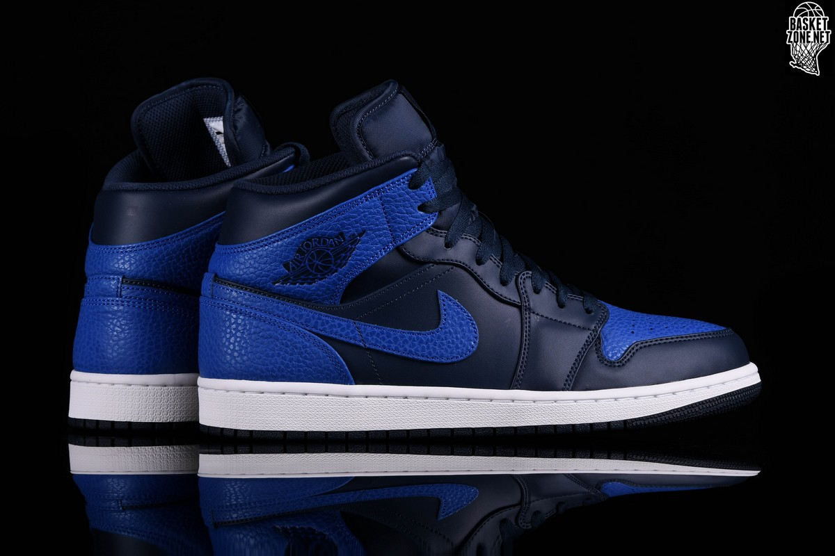 sports shoes 2b548 859c5 ... wholesale nike air jordan 1 retro mid obsidian royal bf545 5cff2