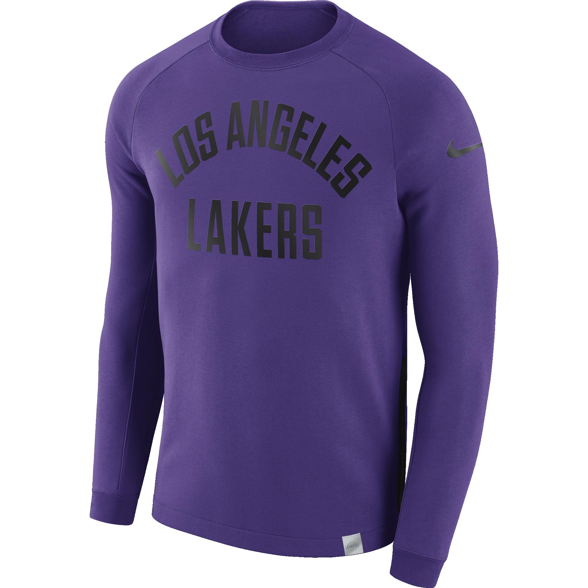 NIKE NBA LOS ANGELES LAKERS CREW