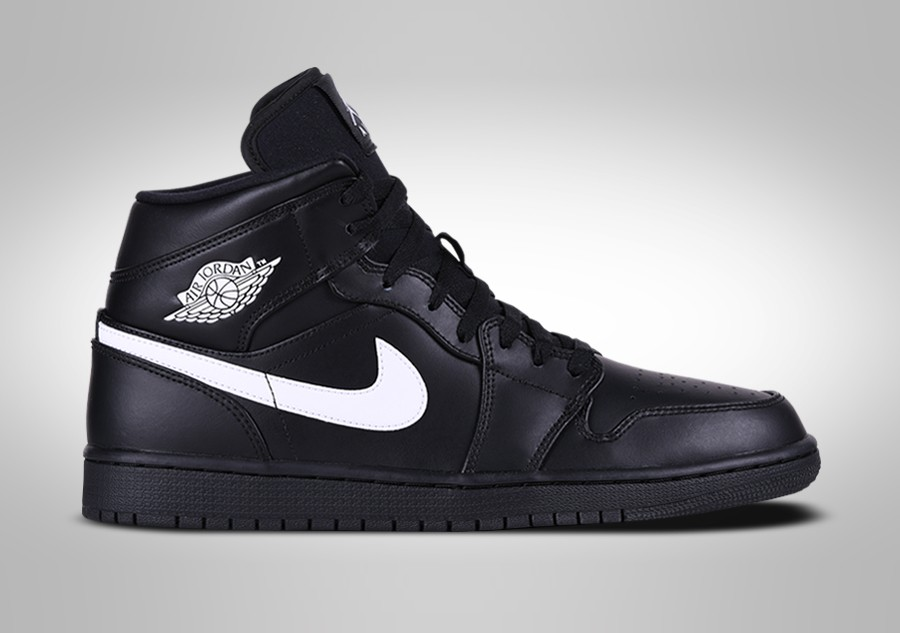 f98921f44133b7 NIKE AIR JORDAN 1 RETRO MID BLACK WHITE pour €109