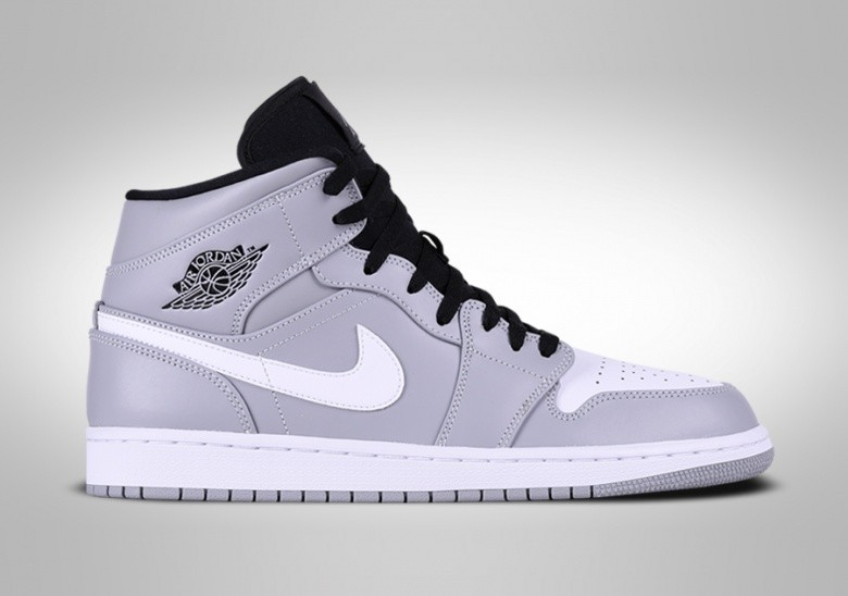 NIKE AIR JORDAN 1 RETRO MID WOLF GREY