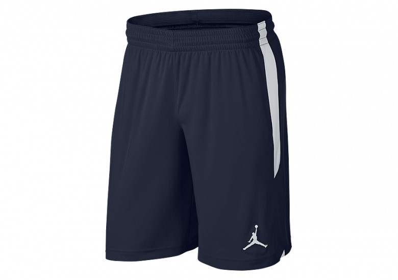 NIKE AIR JORDAN DRY-FIT 23 ALPHA KNIT TRAINING SHORTS COLLEGE NAVY