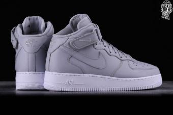2017 5.5 315123 111 Nike Air Force 1 Mid White Men