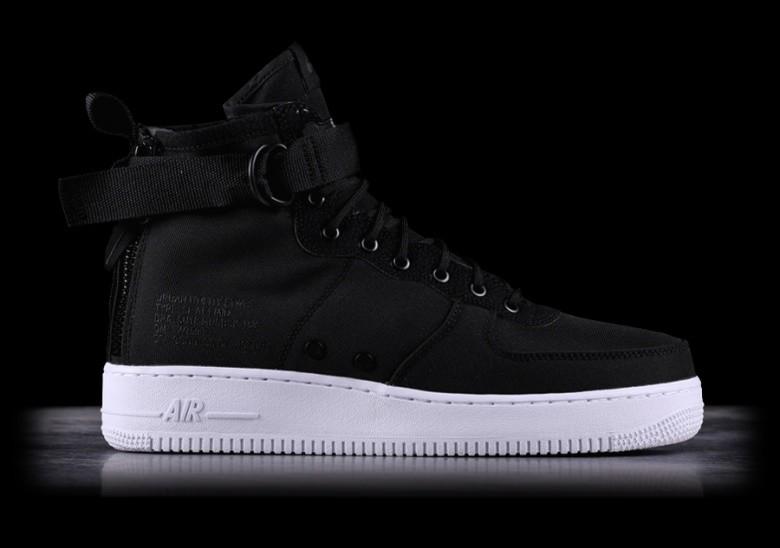 Nike SF AF1 Air Force One Mid Wolf Grey Black New NWT