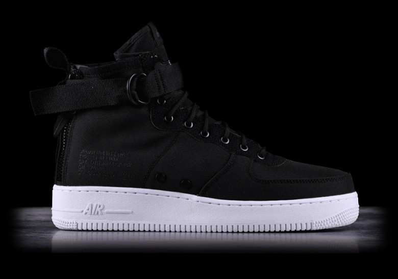 buy popular b1e65 e5943 NIKE SF AIR FORCE 1 MID BLACK price €122.50 | Basketzone.net