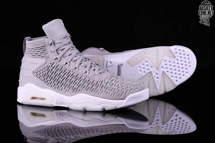€137 Nike Grey Flyknit 23 Elevation Jordan Cool Air Pour 50 VpUzMGjLqS