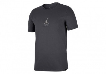 NIKE AIR JORDAN SPORTSWEAR WINGS WASHED TEE DARK SMOKE GREY