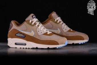 online store ad493 0fa72 NIKE AIR MAX 90 PREMIUM SE MUTED BRONZE