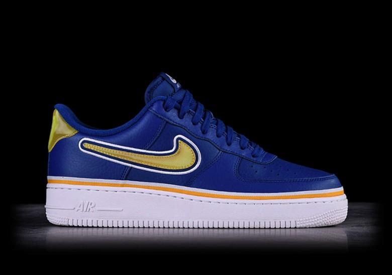 Buty Nike Air Force 1 '07 LV8 Sport NBA Golden State Warriors AJ7748 400