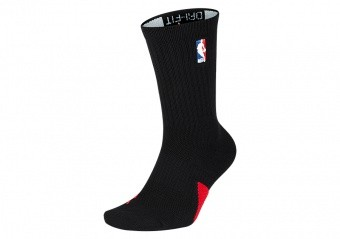 NIKE AIR JORDAN CREW - NBA SOCKS BLACK