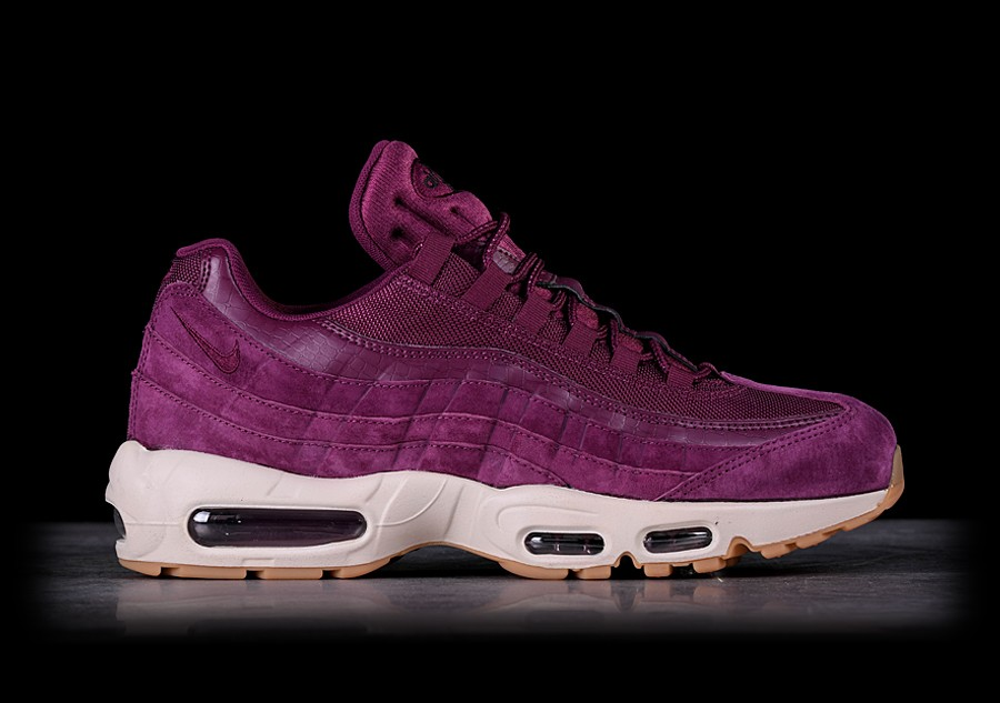 nike air max 95 se bordeaux